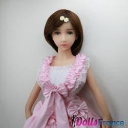 Robe lolita rose poupée sexuelle tpe silicone