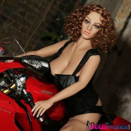 Grosse poupée sexuelle Gloria sur sa moto 155cm Climax