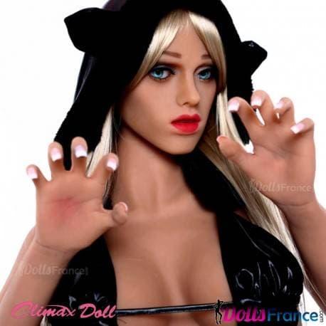 Gloria en poupée sexuelle Catwoman 165cm Climax