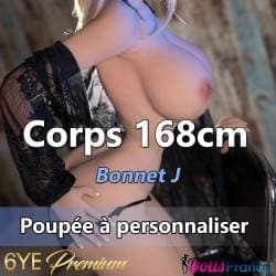 Corps 6YE Premium 168cm - bonnet J