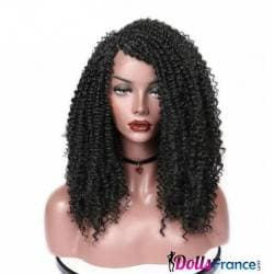 Perruque afro longue