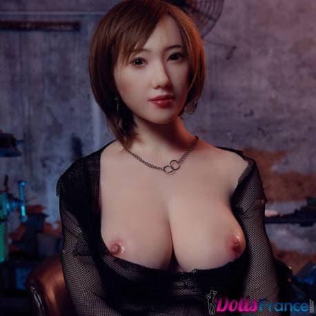 Jang-mi poupée silicone ligotée aux cheveux courts 172cm bonnet H Sinodoll