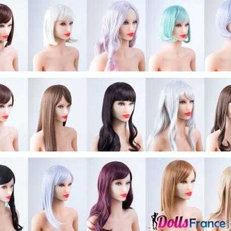 Perruque Doll4ever pour grande poupée (18 coupes)