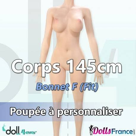 Corps 145cm (Fit) - Bonnet F Doll4ever