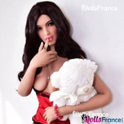 Célia la poupée solitaire et son nounours 162cm 6YE / Amor doll