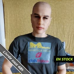 Sexdoll Homme en stock comme neuve 162cm IronTech