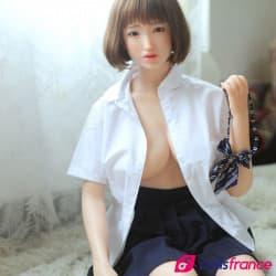 Susu la poupée en silicone asiatique 161cm bonnet E Sinodoll