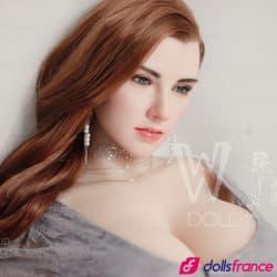 Fannie sex doll hyper réaliste visage silicone 168cm E WMdolls