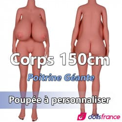 Corps 150cm - Poitrine géante