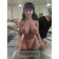Torso chauffant Nathalie EN STOCK avec bras 85cm - Bonnet G WMDolls