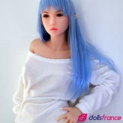 Dora lovedoll elfique cheveux bleus 145cm Fit DollForever