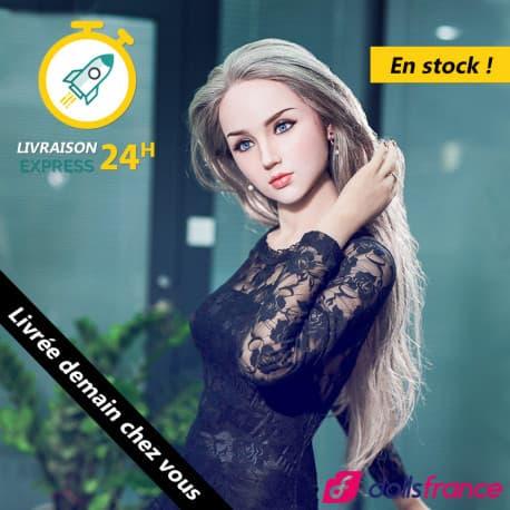 Sexdoll TPE en stock visage Misa en silicone 168cm XYdoll