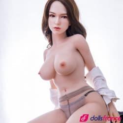 Sex doll silicone secrétaire lubrique Chris 162cm SinoDoll