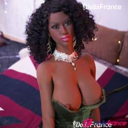 Hawa la poupée d'amour black gros seins 161cm E-cup 6YE Premium