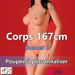 Corps 167cm bonnet D DSDOLL