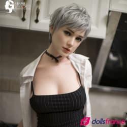 Sexdoll réaliste de luxe Laura beauté en silicone 162cm Gynoid