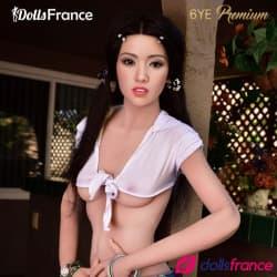 Sex doll mince Hermina visage silicone 165cm B 6YE Premium