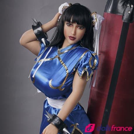 Sex doll réelle Mika asiatique pulpeuse 158cm IronTech