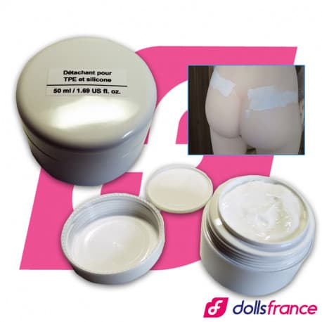 Crème détachante sexdoll TPE silicone