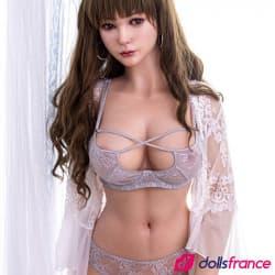 Megan sensuelle sexdoll réaliste silicone 162cm SinoDoll
