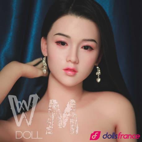 Luce sexdoll réelle asiatique visage silicone 163cm C WMdolls