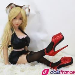 Chaussures à très haut talons pour mini-doll 100cm