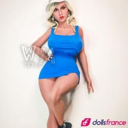 Estelle sex doll avec orifices dans les seins 155cm L-cup WMdolls