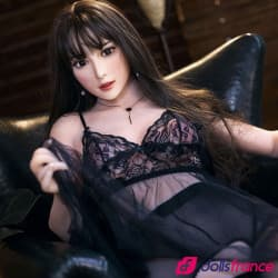 Amy délicieuse sex doll brunette 163cm B IronTech