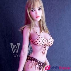 Lexi douce love doll réelle de compagnie 164cm WMdolls
