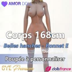 Corps 6YE Premium 168cm - Belles hanches bonnet E