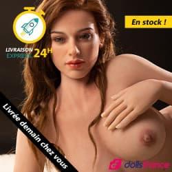 Charmante sexdoll réaliste rousse Amy EN STOCK 156cm Starpery