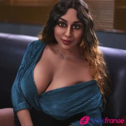 Christelle Lovedoll réelle secrétaire sexy 161cm IronTech