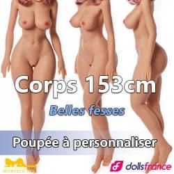 Corps 153cm Belles fesses IronTech
