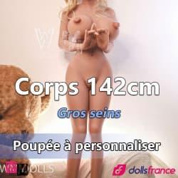 Corps 142cm - Gros seins WMDolls