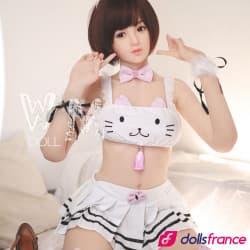 Jeune sex doll de compagnie soumise Aria 164cm WMdolls
