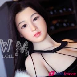 Charmante Sexdoll réaliste Cora visage silicone 168cm E WMdolls