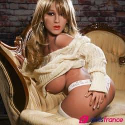 Belle poupée sexuelle naine Viola 118cm YLdoll
