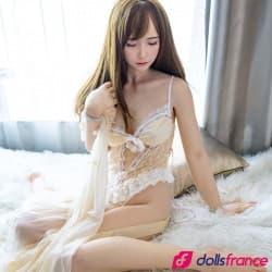 Gentille Sex doll aux yeux fermés Miyou 158cm RRS Top-Sino