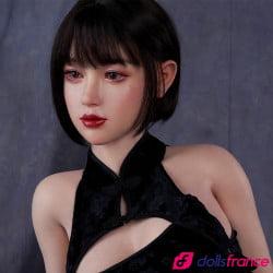 Poupée sexuelle chinoise en silicone Olivia 165cm bonnet F Zelex