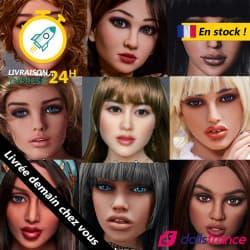 Destockage Tête pour poupée TPE Irontech Dolls