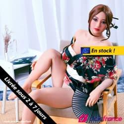 Poupée sexuelle Saya en kimono en stock 159cm IronTech