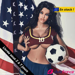 Jane la love doll supportrice américaine en stock 163cm+ IronTech