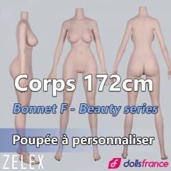 Corps silicone 172cm bonnet F Zelex
