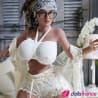 Bimbo latina Giuliana sex doll réelle 153cm YLdoll