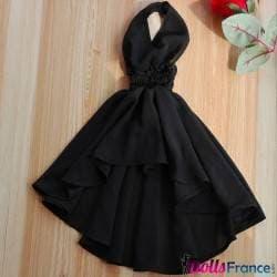 Robe noire pour poupée en silicone