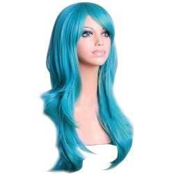 Perruque de couleur pour grande poupée