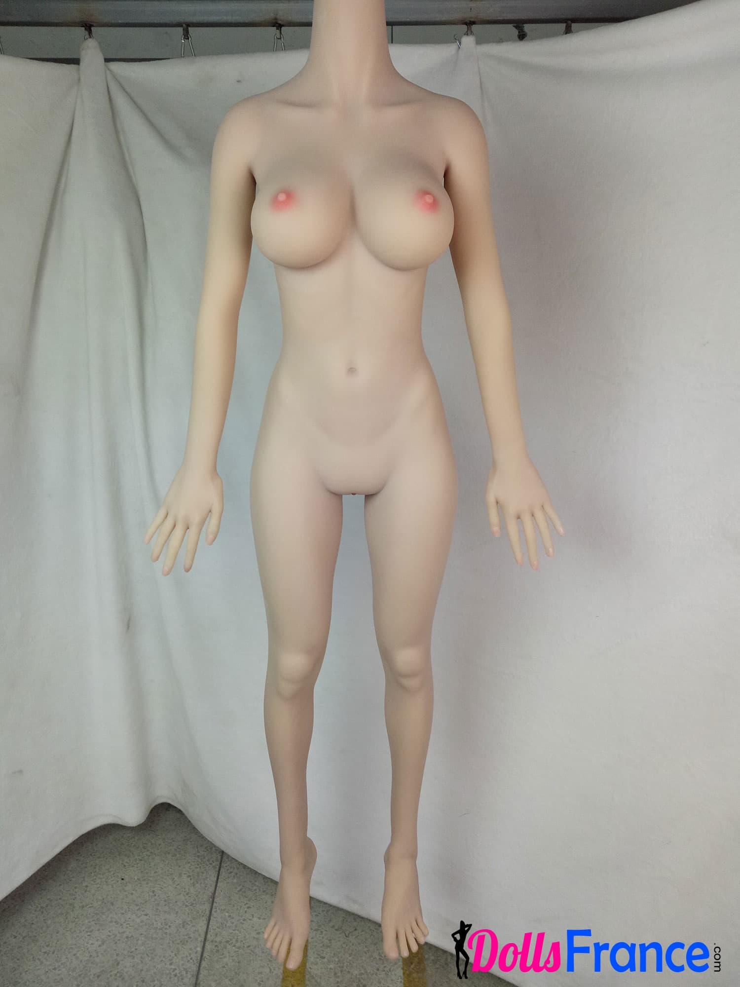poupée silicone tpe smdolls 148cm corps nu de face