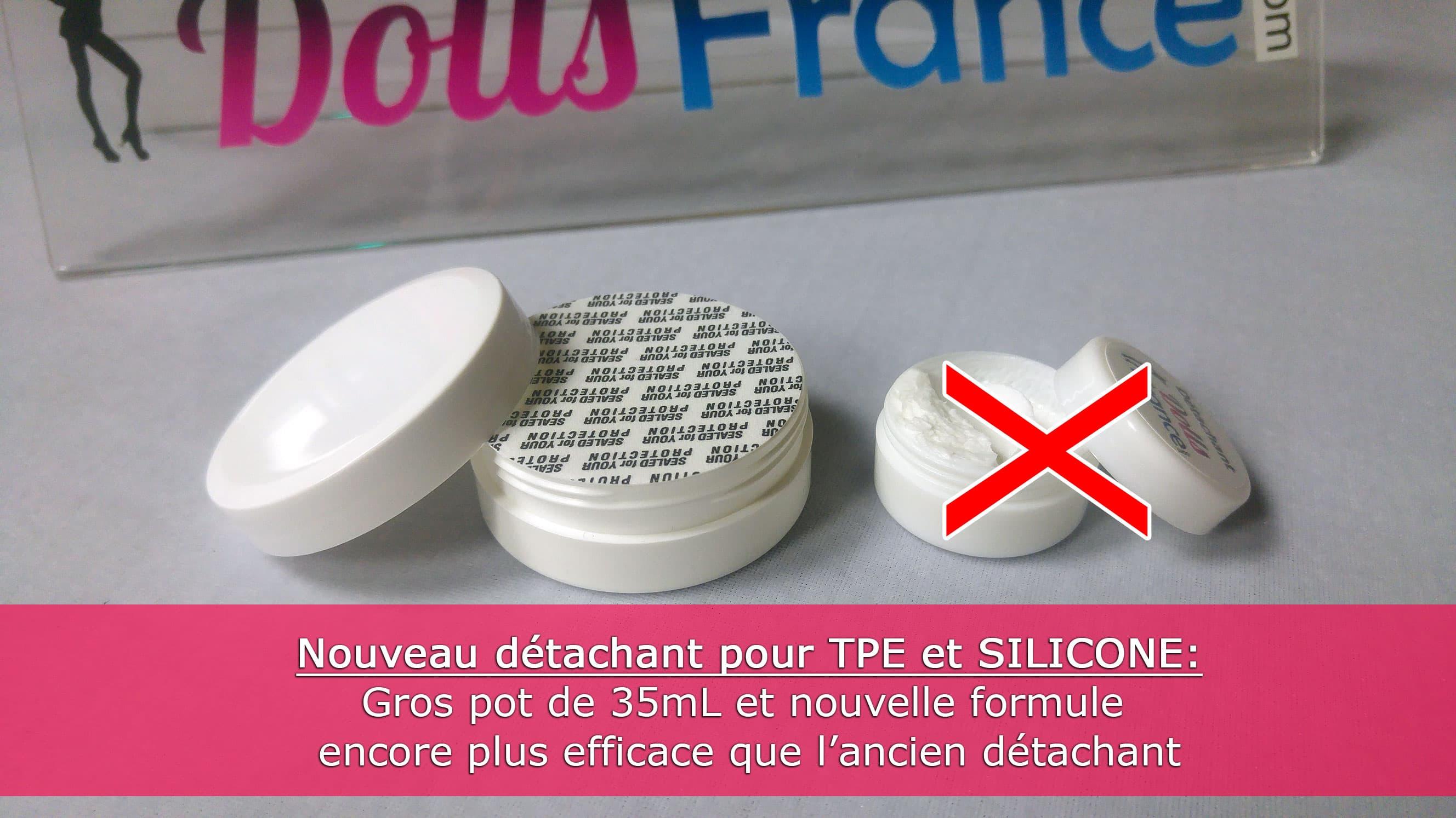 Détachant dolls france pour TPE et silicone nouvelle formule
