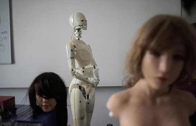 poupee sexuelle robot exdoll