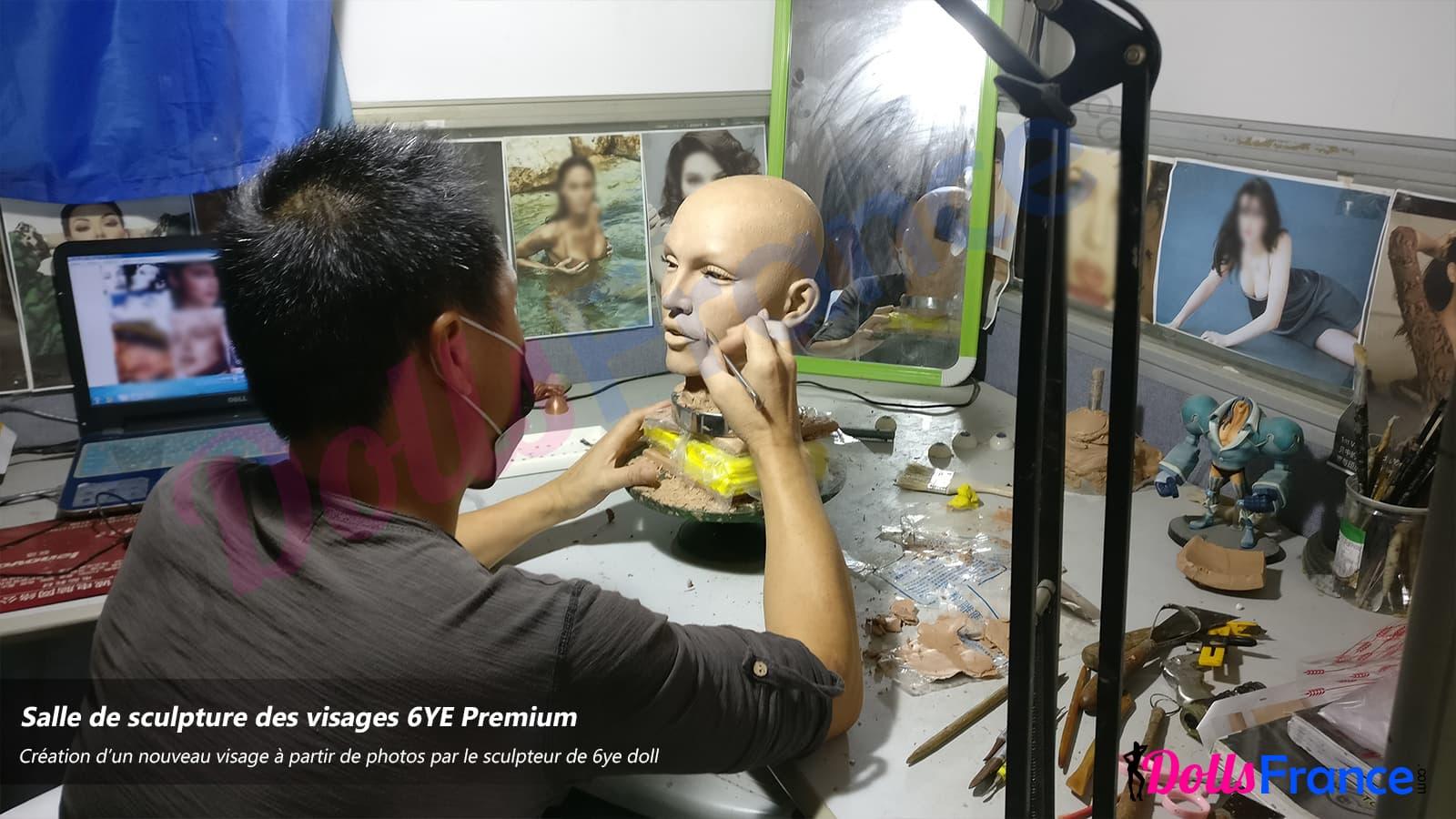 Sculpture de visage personnalisés sur photo 6ye dollsfrance